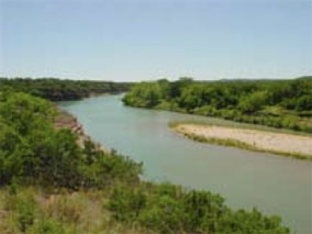 The sweet Llano River in Texas
