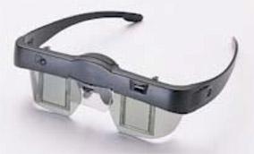 Elsa's wireless stereoglasses the 3D Revelator circa 1999. (Source: Stereo3d.com)