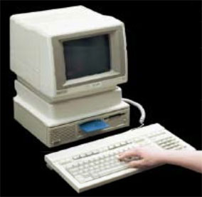 What was the first PC with touch?