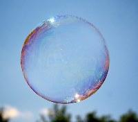 The infamous bubble.