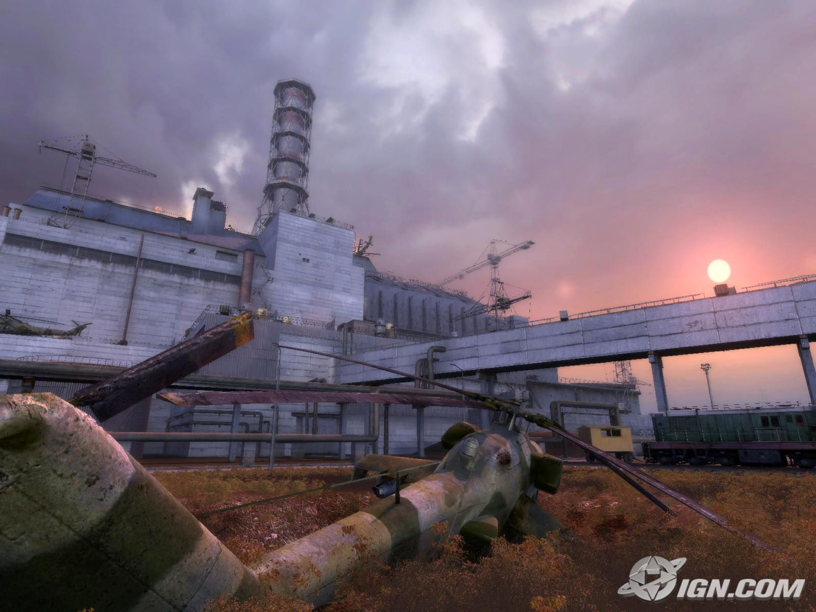 Chernobly Reactor in S.T.A.L.K.E.R. (Source: IGN)