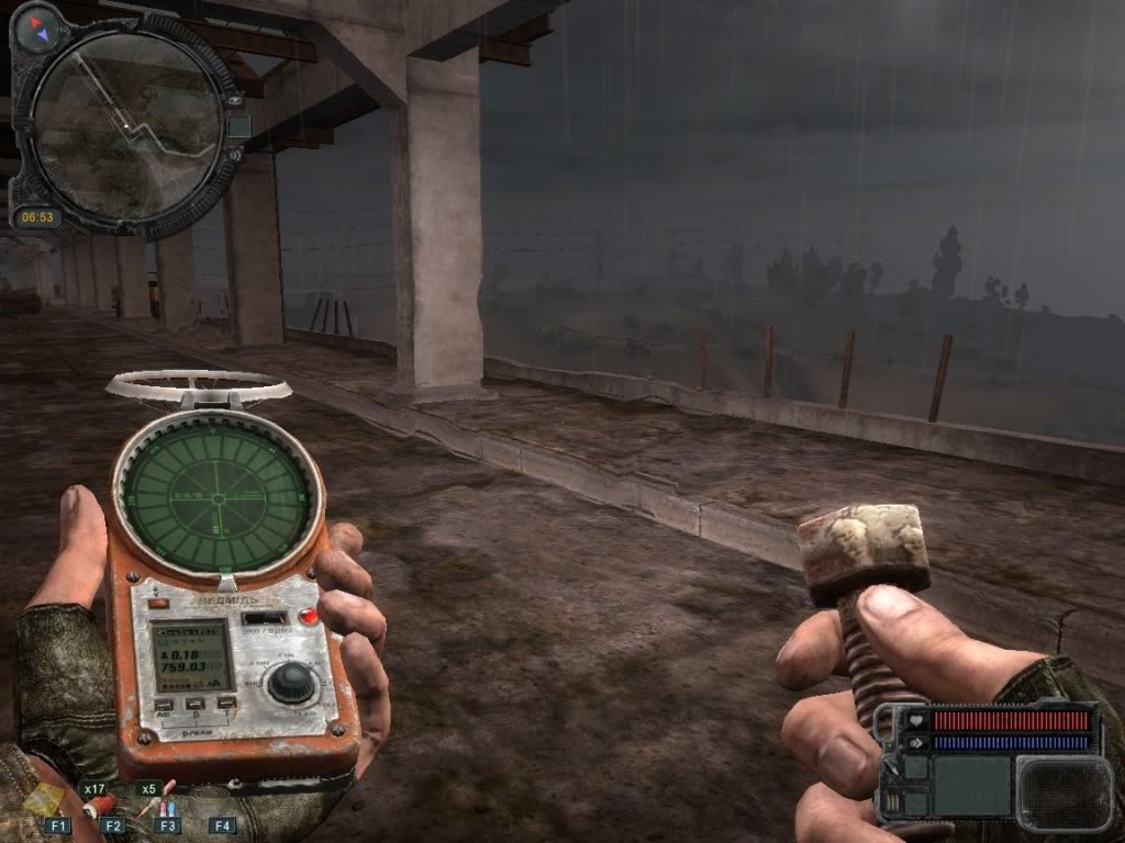 Radiation detection equiptment in S.T.A.L.K.E.R. (Source: GSC Game World)