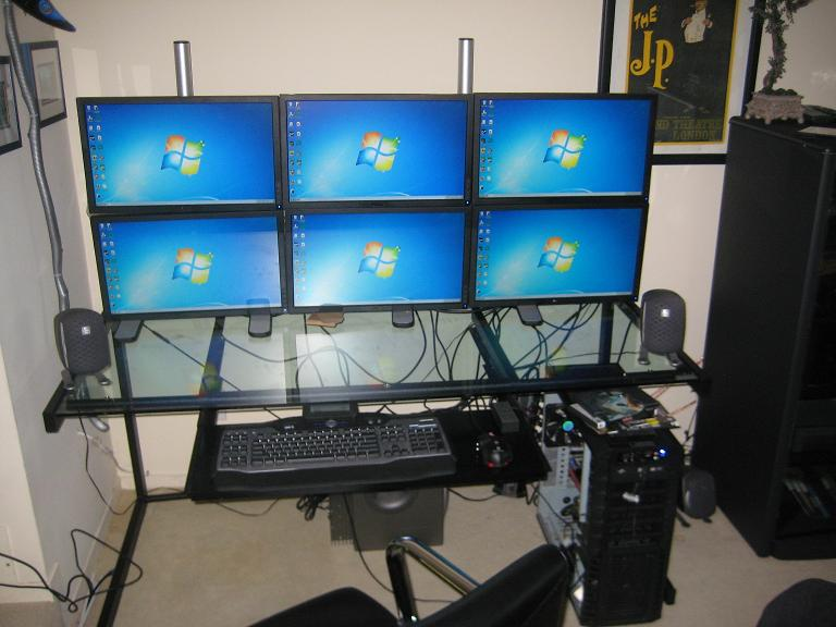 Playing With Six Monitors Is That A Full Deck Jon