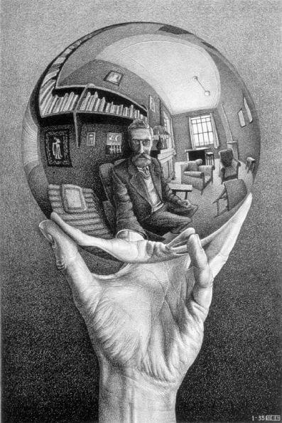 M.C. Escher: Hand with Reflecting Sphere