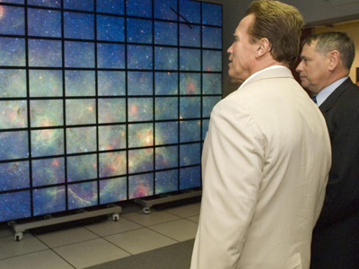 The Gov contemplates NASA Ames' viz system