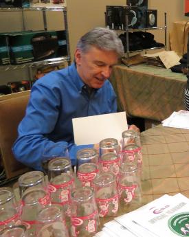 Jon signing books at Khronos' BOF Bash (source: JPR)