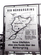 Figure 3. Track configuration of the urburgring/Nordschleife. (Source: Nürburgrung)