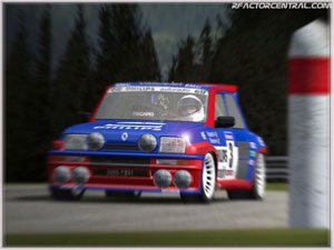 Figure 4. G-Force in a Renault Turbo 2. (Source: rFactor Central)