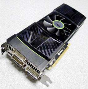 Nvidia's dual GPU GTX 590 AIB