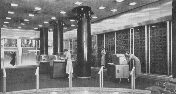 THE GIGANTIC COMPUTING MACHINES with the bizarre names—SSEC, Eniac, Edvac, Binac, Mark I, II, and III, Rudy the Rooter, fightened the public and the press, and movies exploited the fear.