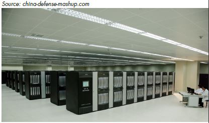 TIANHE-2 HAS 16,000 nodes, each with two Intel Xeon IvyBridge processors and three Xeon Phi processors for a combined total of 3,120,000 computing core